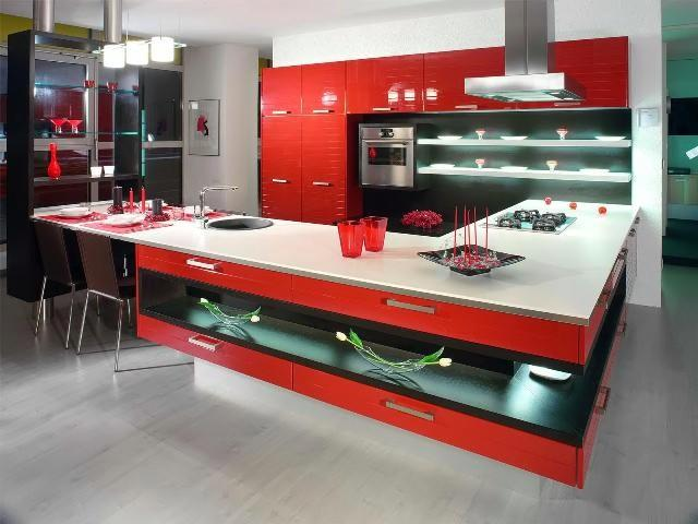 incredibly stylish kitchen