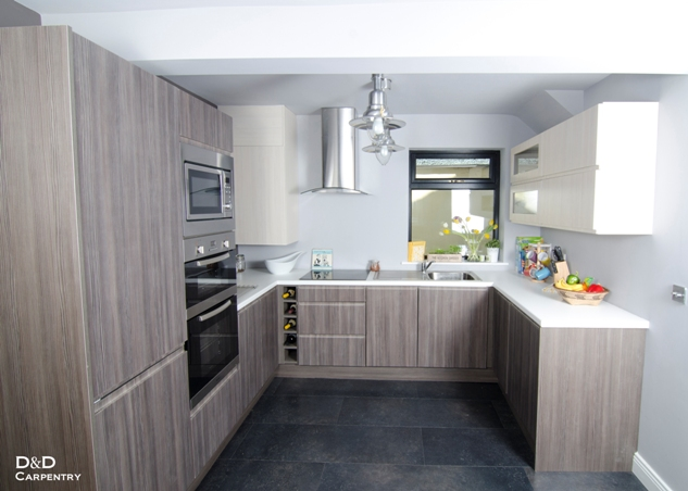 kitchen avola gray and white. Rathfarnham, Dublin