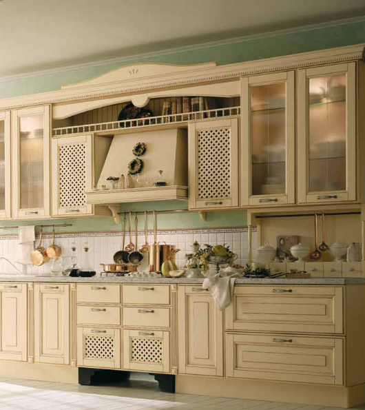Wooden kitchen style