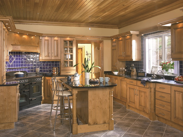 harvard solid character oak kitchen style